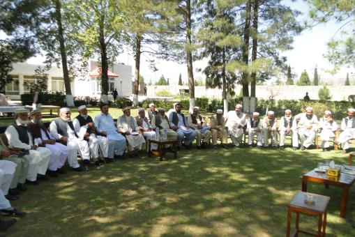 A Joint Jirga of the elders of Bajaur and Malakand Agency.JPG5